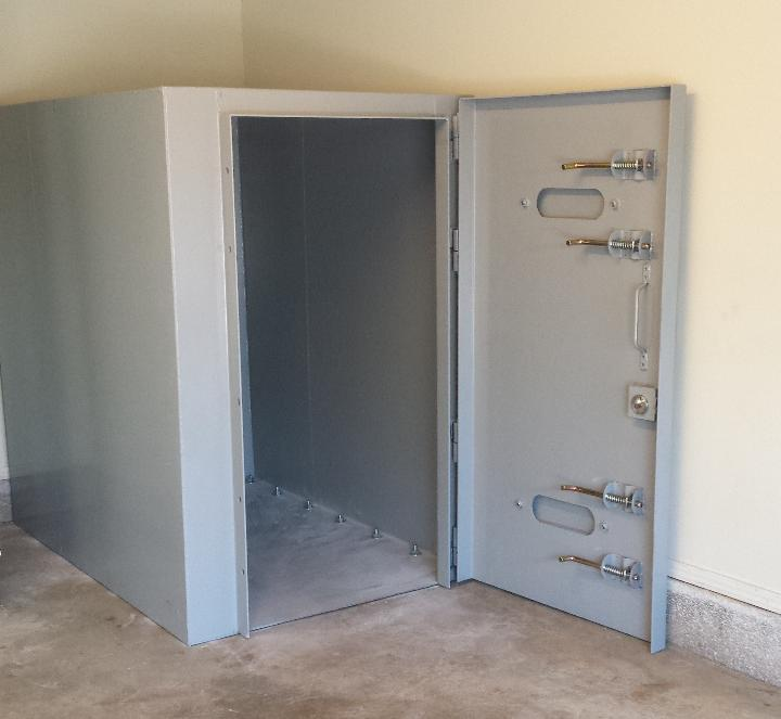 Texas safe room can be installed in 7 10 days for Safe room