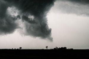 Tornado About to Make Landfall