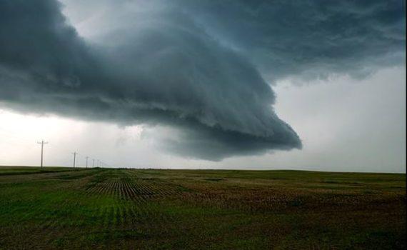 tornado building up
