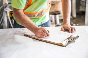 discussion with safe room contractors