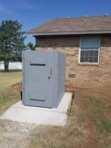 safe room for a home in Dallas, TX