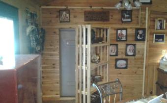hidden safe room inside a home