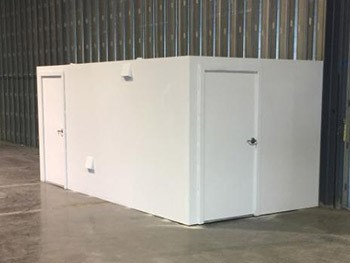 above ground safe room in Texas